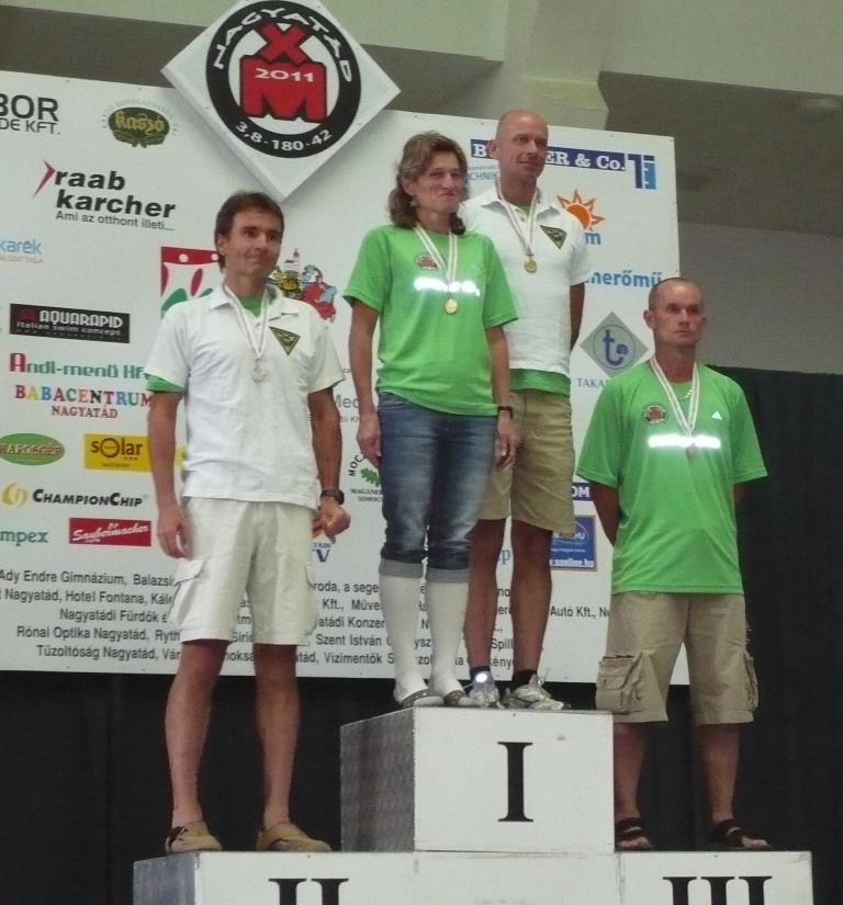 Ironman OB 2011: Kettős győzelem a senior II-ben.
